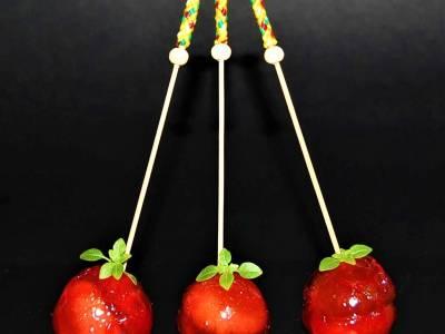 Manzanas de feria