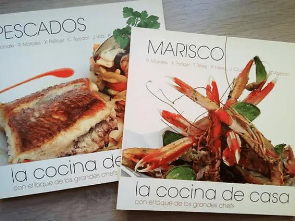 Rafa Morales contribuye con sus recetas a una nueva colección de libros gastronómicos