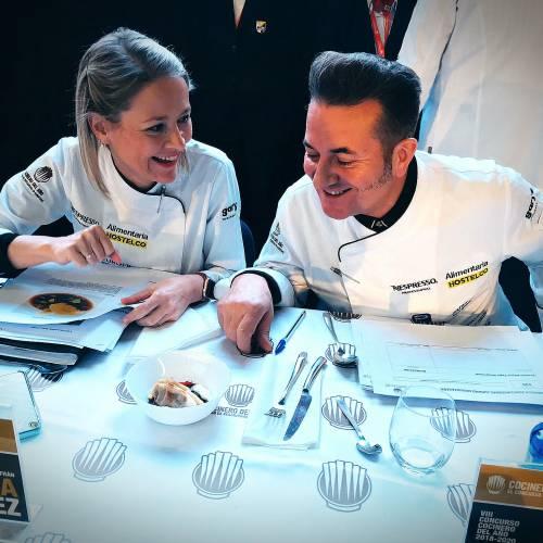 RM como jurado en las Semifinales del Concurso del Cocinero del Año
